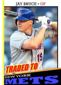 2016 TSR #327 - Jay Bruce Traded