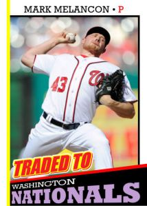 2016 TSR #329 - Mark Melancon traded