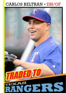 2016 TSR #330 - Carlos Beltran traded
