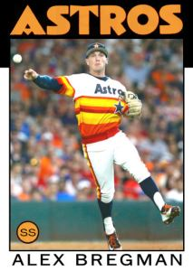 2016 TSRchives 86T-8 Alex Bregman