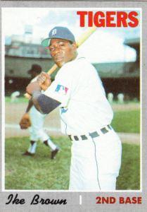 1970 Topps Ike Brown
