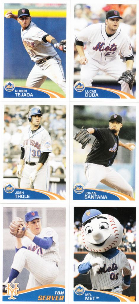 various-topps-mets-stickers