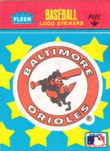 1986-fleer-classic-minatures-orioles-logo-sticker