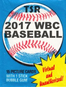 Another Pack Of 2017 Tsr World Baseball Classic Cards The